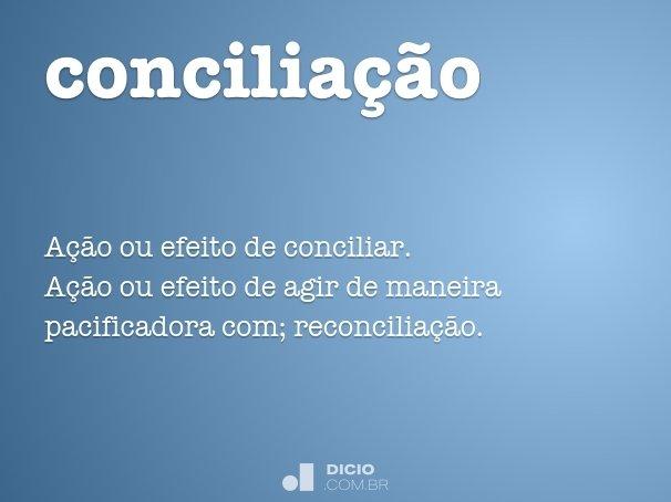 concilia��o