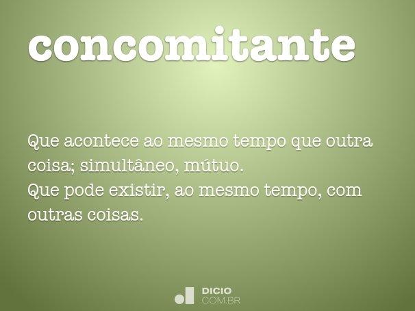 concomitante