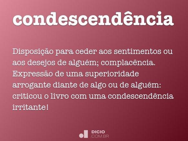 condescend�ncia