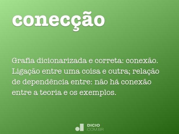 conec��o