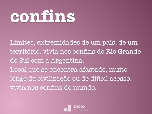 confins