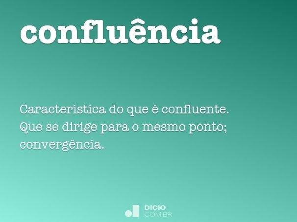 conflu�ncia