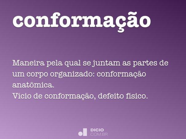 conforma��o