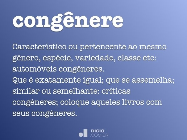 cong�nere