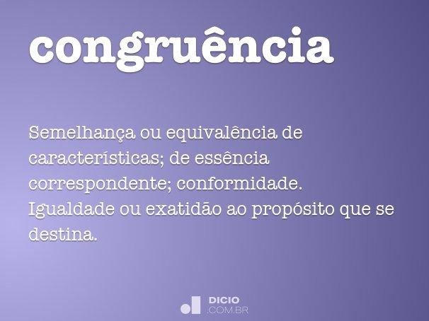 congru�ncia