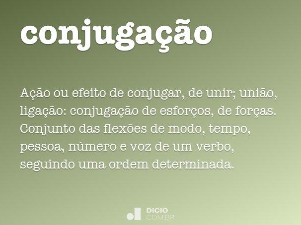 conjuga��o