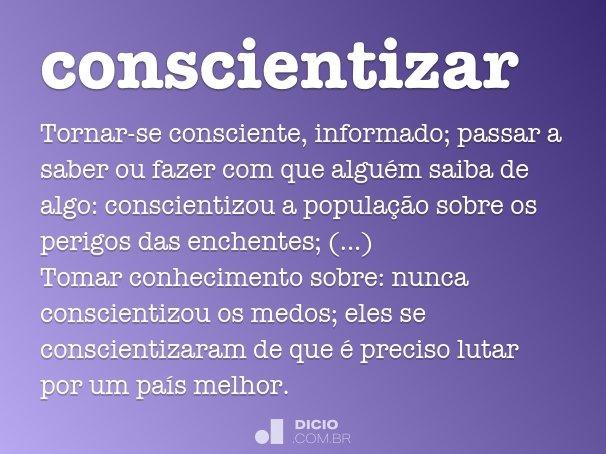 conscientizar