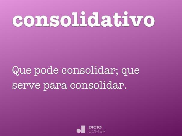 consolidativo