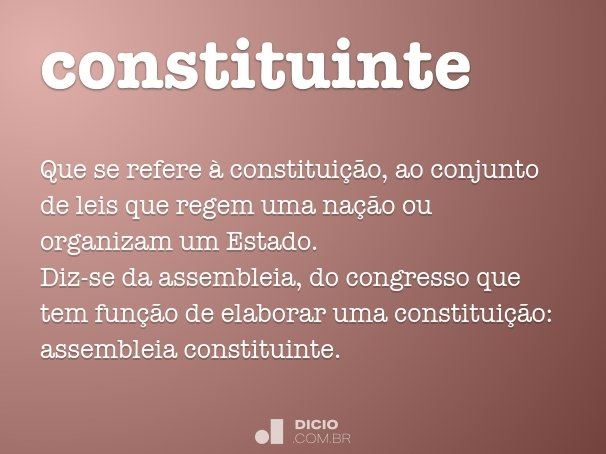 constituinte