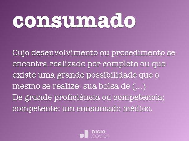 consumado