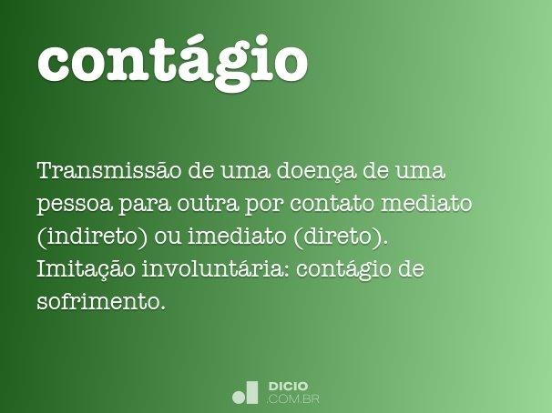 cont�gio