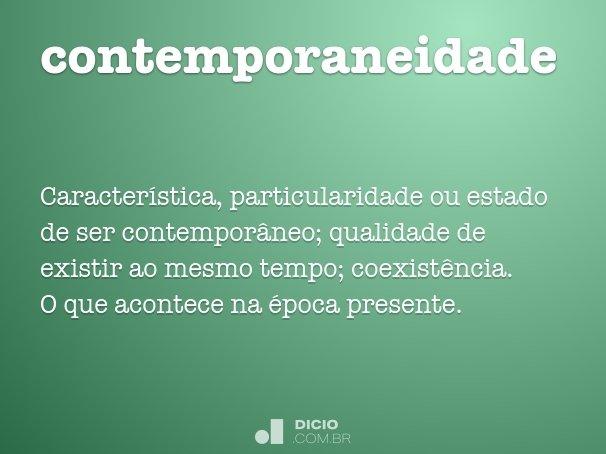contemporaneidade