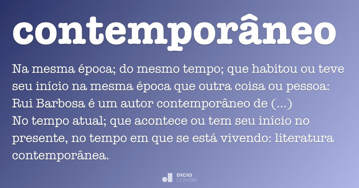 contempor neo dicio dicion rio online de portugu s
