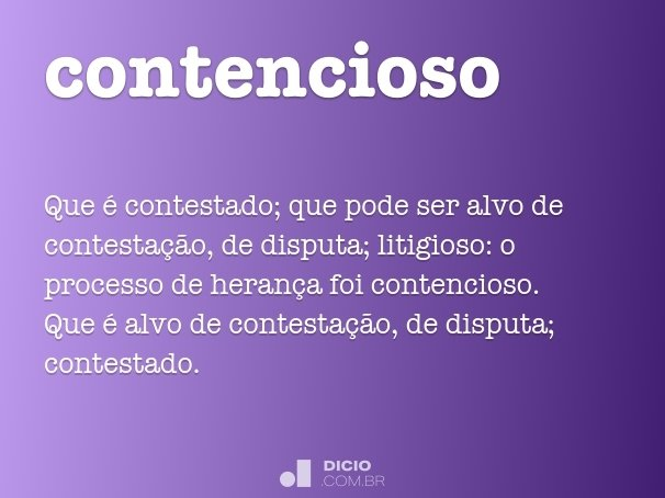 contencioso