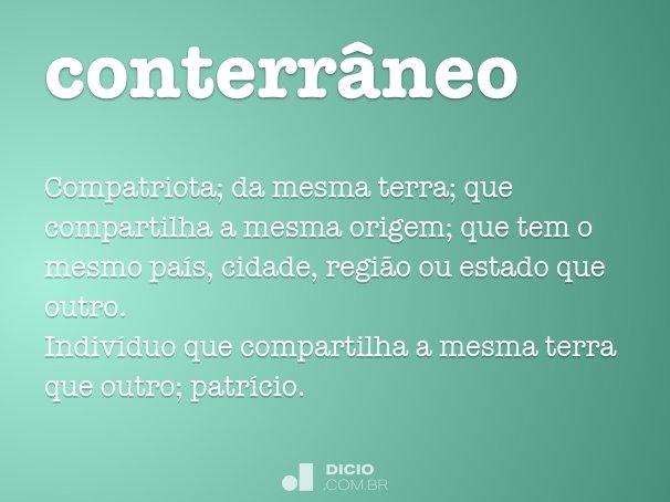 conterr�neo