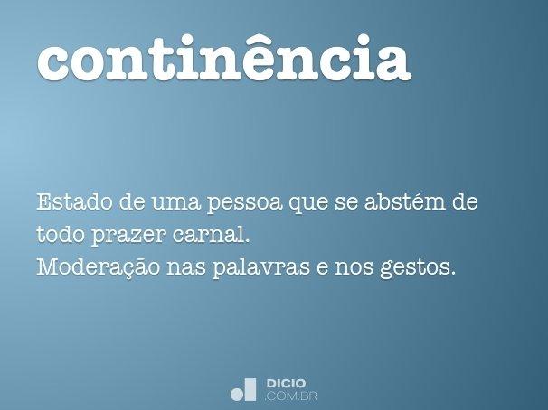 contin�ncia