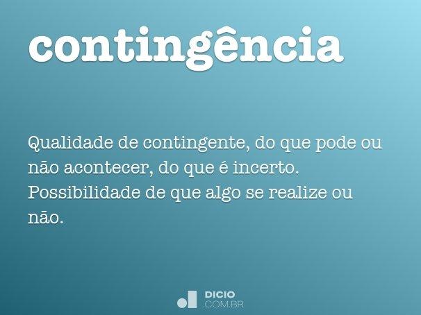 conting�ncia