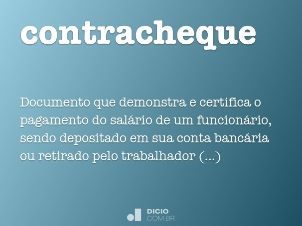 contracheque