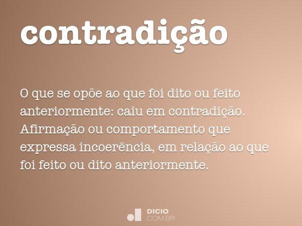 contradi��o