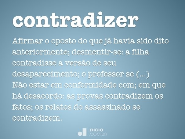 contradizer