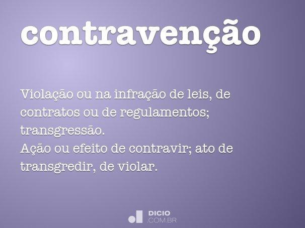 contravenção