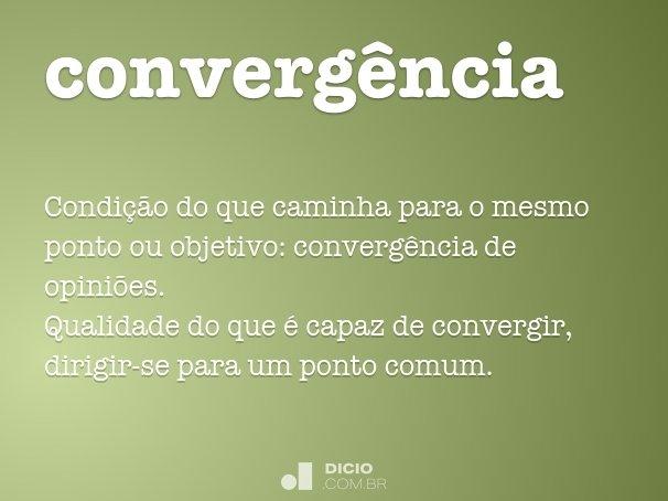 converg�ncia