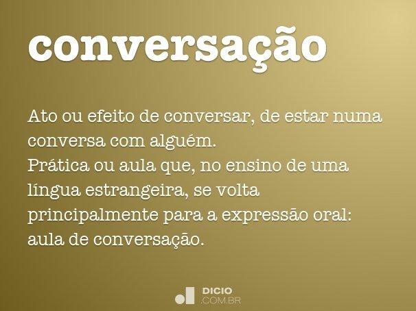 conversa��o