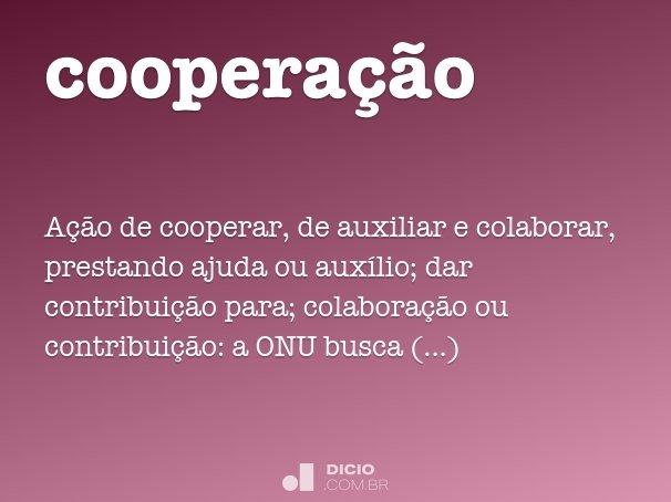 coopera��o