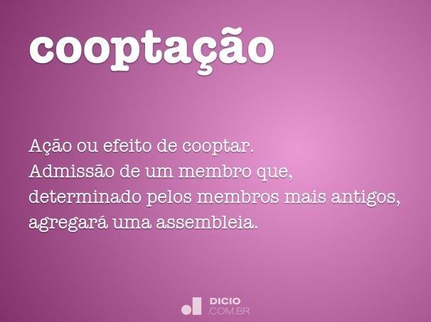 coopta��o
