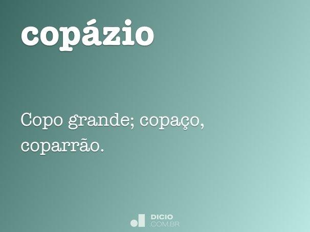 copázio