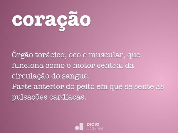 cora��o
