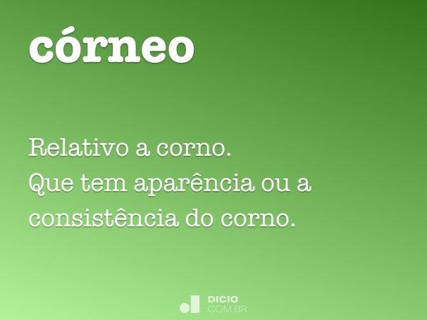 córneo