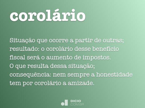 corolário