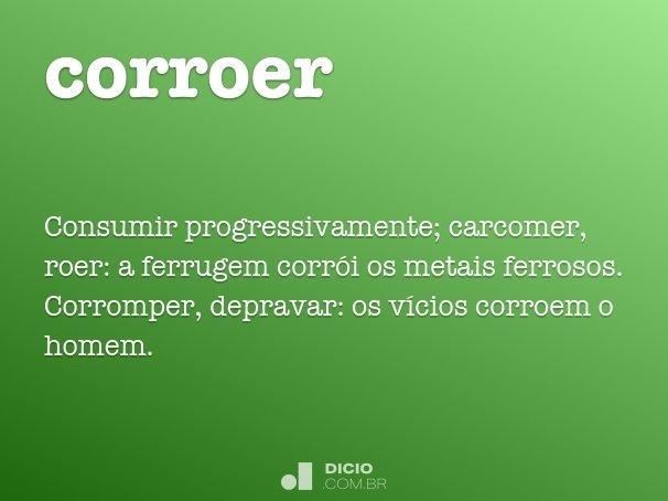 corroer