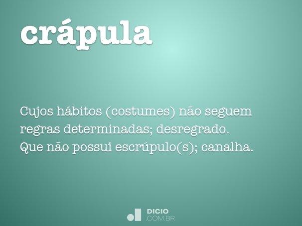 cr�pula