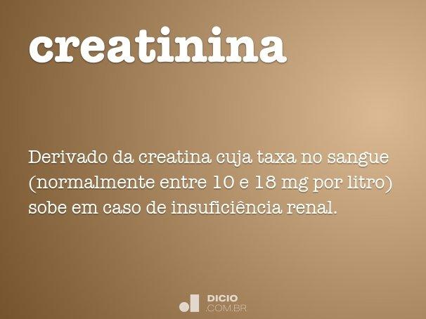creatinina