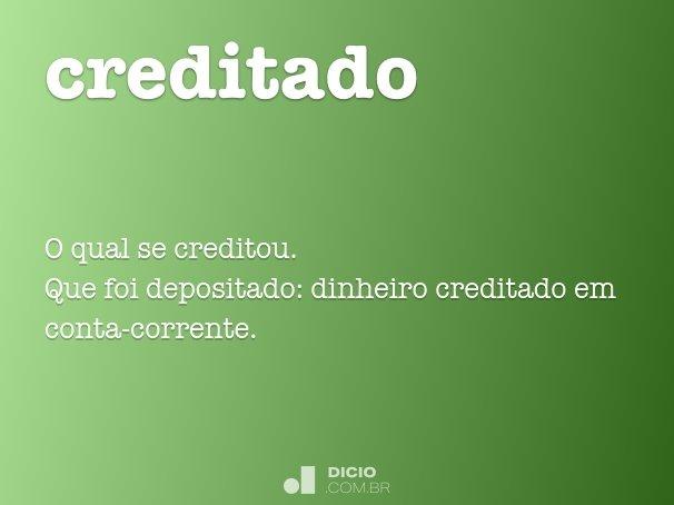 creditado