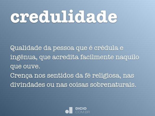 credulidade