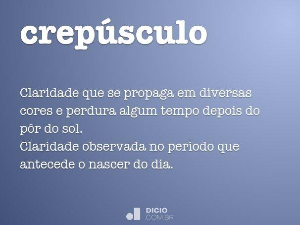 crep�sculo