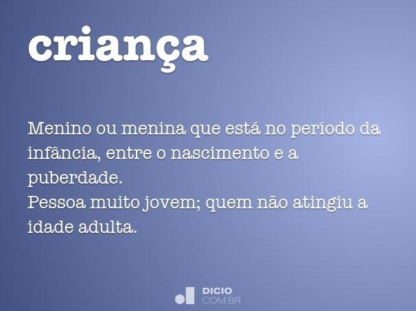 crian�a