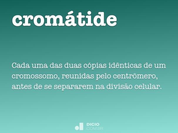 cromátide