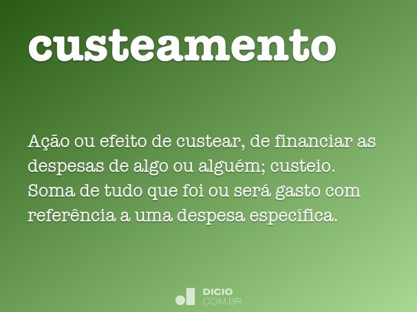 custeamento
