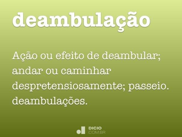 deambula��o