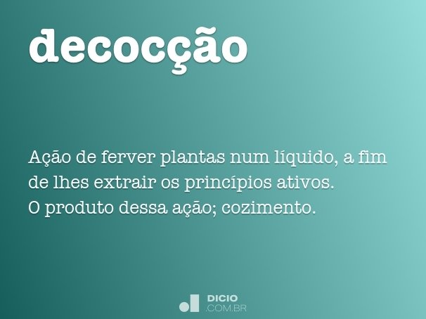 decoc��o