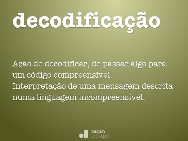 decodificação