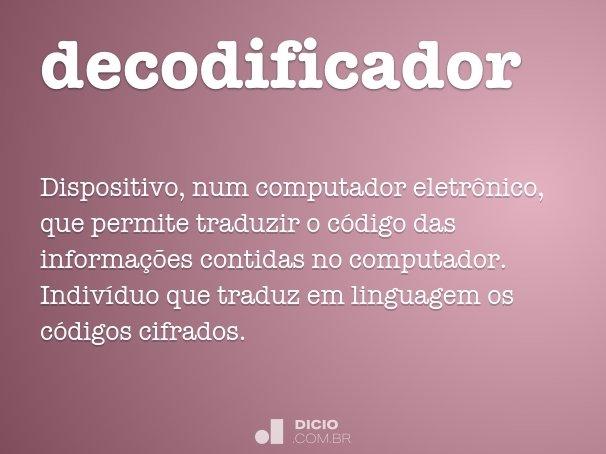 decodificador