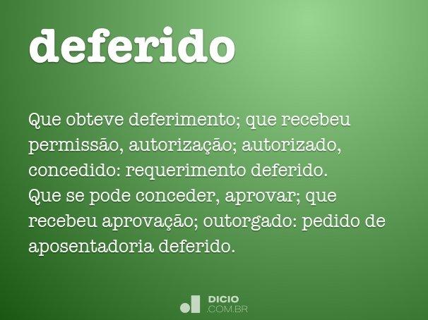 deferido