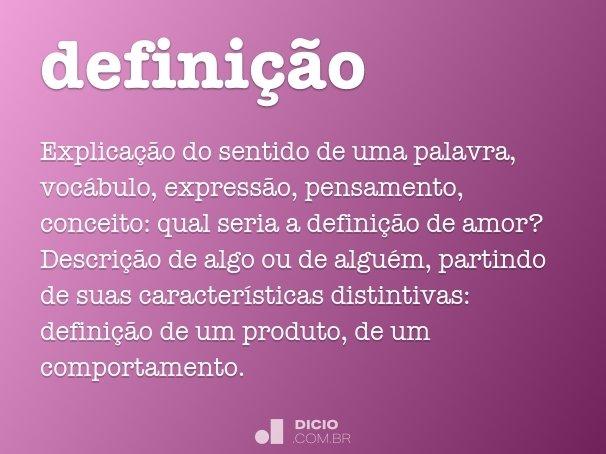 defini��o