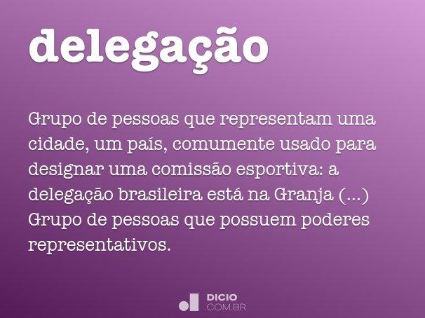 delega��o