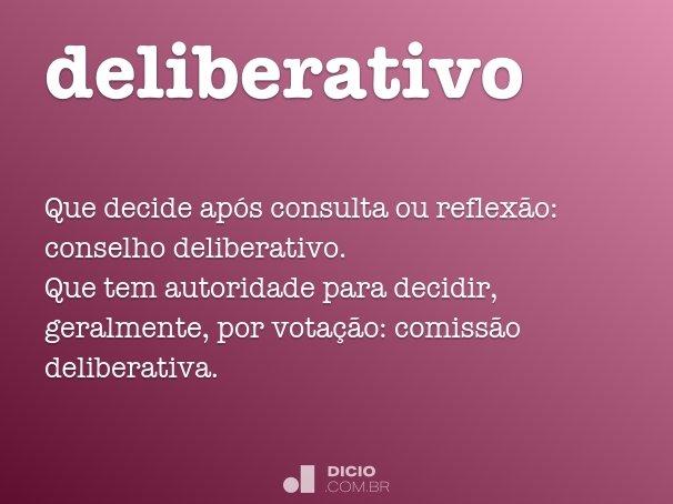 deliberativo